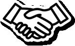Hand Shake Symbol